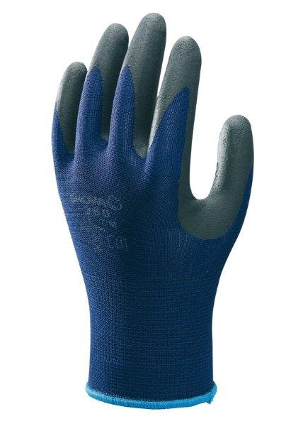 Showa 380 Nitrile Foam Grip Bleu/Noir