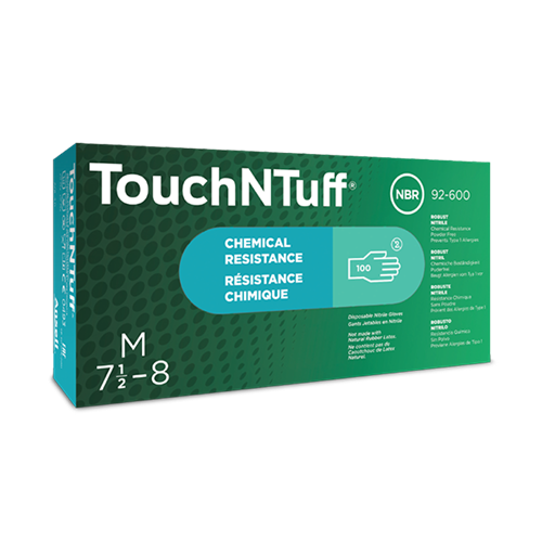 Ansell Touch N Tuff 92-600 - 100 pièces