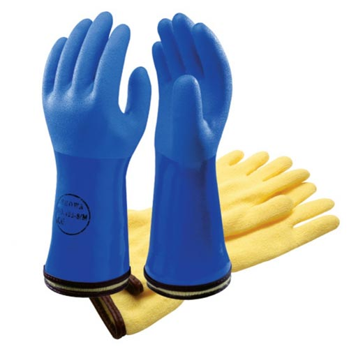 Showa isolante 495 Cold and Oil Resistant Bleu